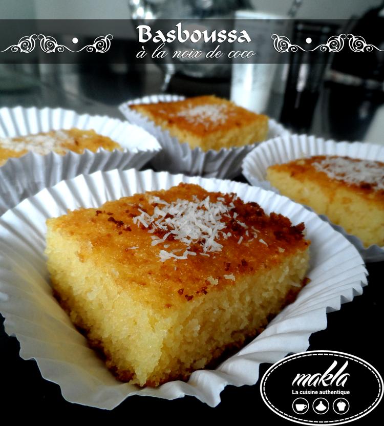 Basboussa_Noix de coco 1