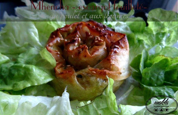 Mini mhencha poulet légumes